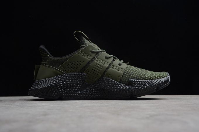 Mens adidas Prophere Black Olive 1 680x453