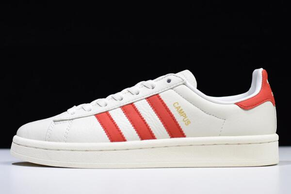 New adidas Campus White Red