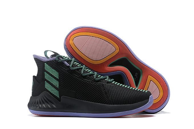 New adidas D Rose 9 Black Green For Sale 680x453