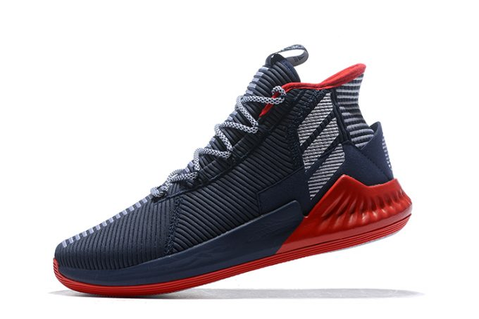 New adidas D Rose 9 Navy Blue Red White For Sale 1 680x453
