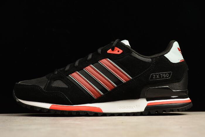 adidas ZX 750 Black/Red-White S24856