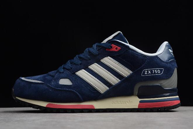 adidas Originals ZX 750 Navy Blue White
