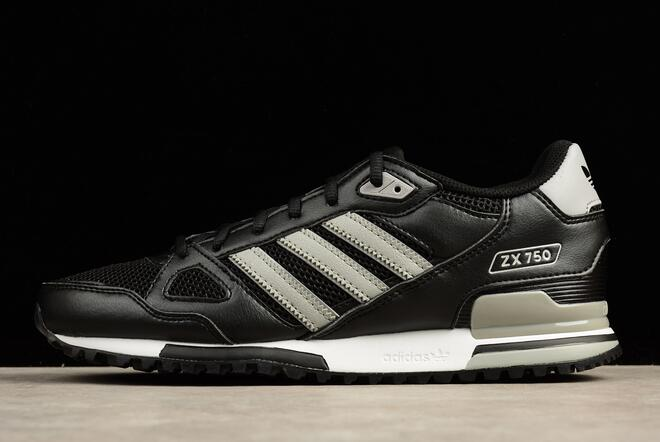 adidas ZX 750 Black Grey White