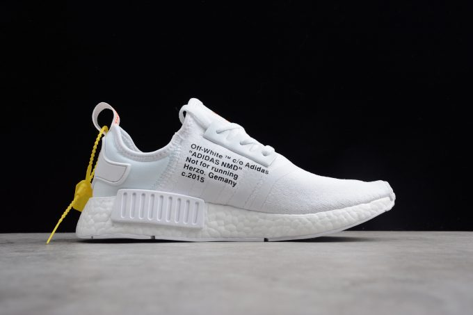 Off White x adidas NMD XR1 PK BOOST White Black 1 680x453