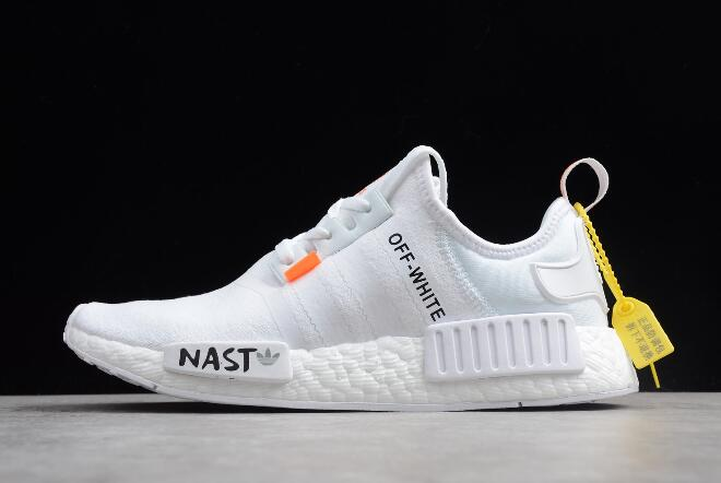 Off White x adidas NMD XR1 PK BOOST White Black