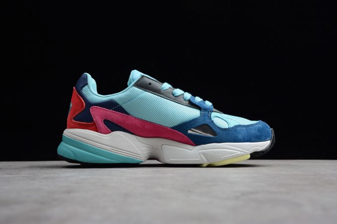 Womens adidas Falcon Blue Navy Pink Red White 1 680x453