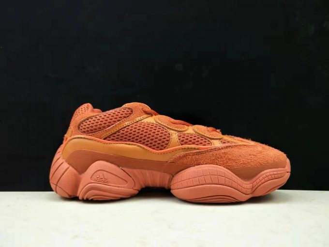 Womens adidas Yeezy 500 Orange Red 1 680x510
