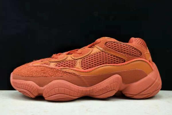 Womens adidas Yeezy 500 Orange Red