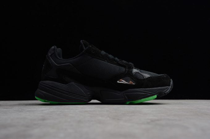 adidas Falcon Black Green 1 680x453