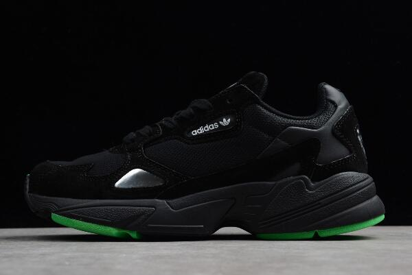 adidas Falcon Black Green