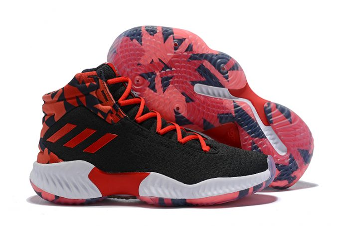 adidas Pro Bounce 2018 Black Red White 1 680x454