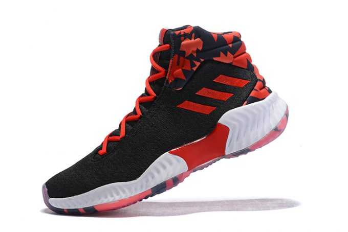 adidas Pro Bounce 2018 Black Red White 680x454