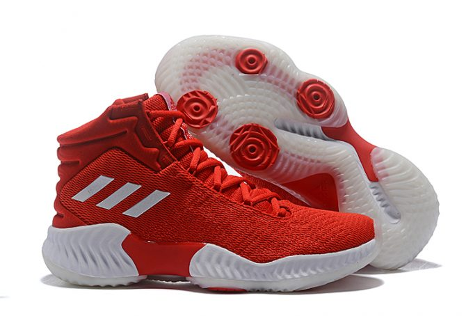 adidas Pro Bounce 2018 Red White 1 680x454