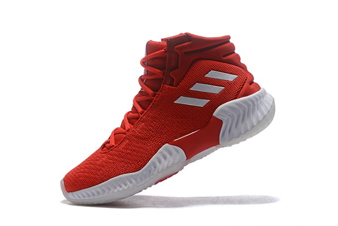 adidas Pro Bounce 2018 Red White 680x454