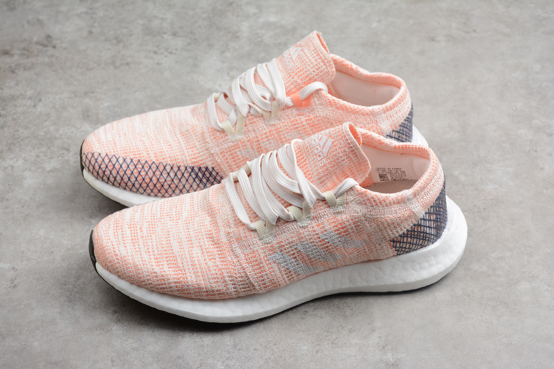 Women's adidas Pure Boost GO Pink/White