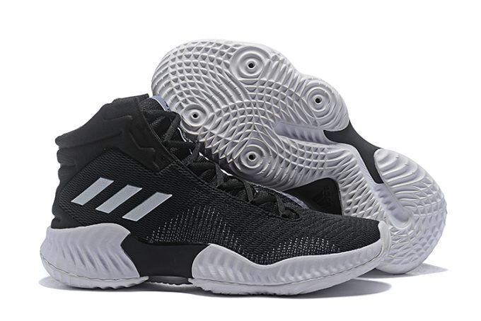 adidas Pro Bounce 2018 Black White For Sale 1 680x454