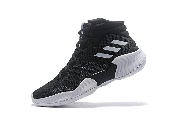 adidas Pro Bounce 2018 Black White For Sale 680x454