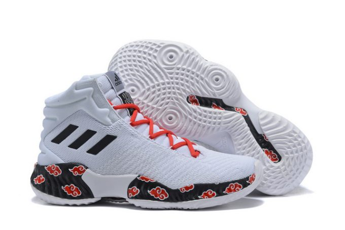 adidas Pro Bounce 2018 White Red Black 1 680x455