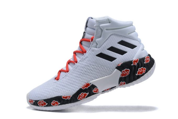 adidas Pro Bounce 2018 White Red Black 680x455