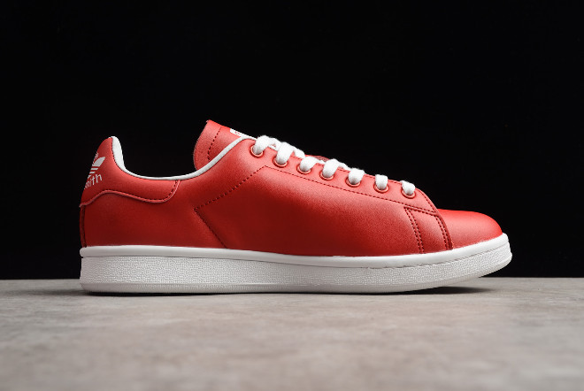 New adidas Stan Smith Valentines Day Bright Red White Limited Edition Shoes 1