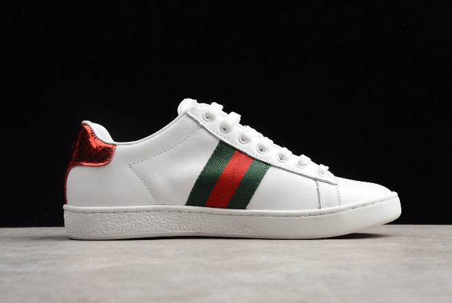 WMNS adidas Stan Smith White Red Green For Sale 1