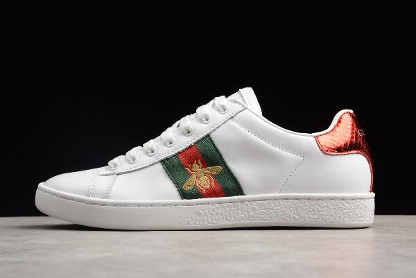 WMNS adidas Stan Smith White/Red-Green For Sale