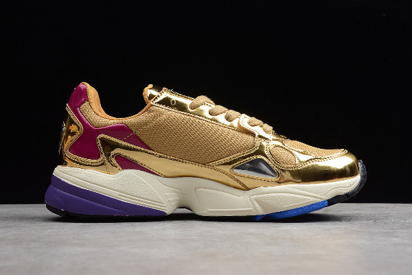 adidas Falcon Metallic Gold Gold Met Off White 1