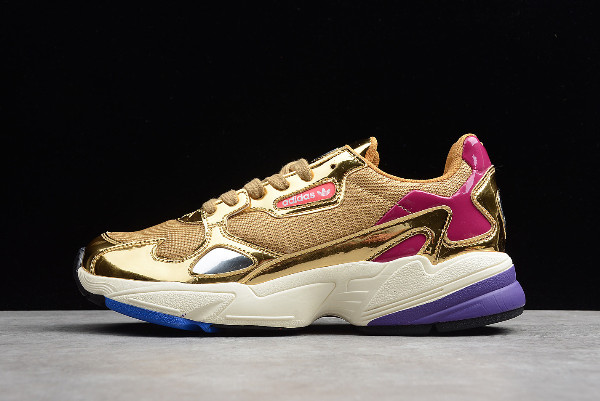 adidas Falcon Metallic Gold Gold Met Off White