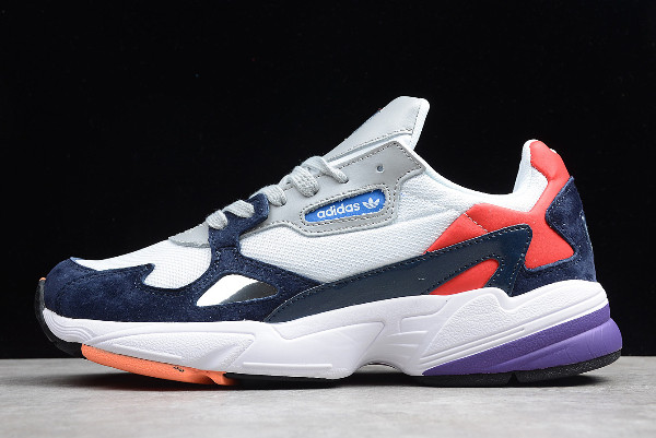 adidas Originals Falcon Crystal White Collegiate Navy