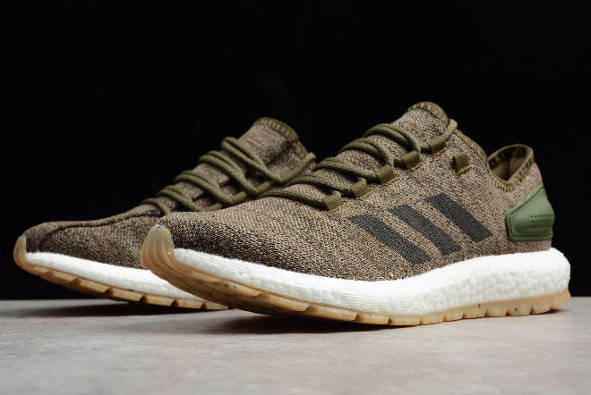 adidas Pure Boost All Terrain Trace Cargo/Core Black Running Shoes S80784