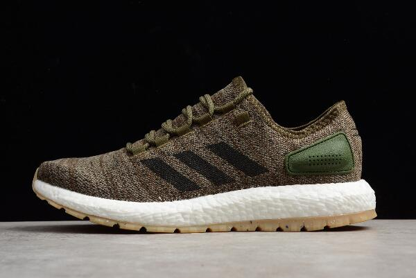 adidas Pure Boost All Terrain Trace Cargo Core Black Running Shoes