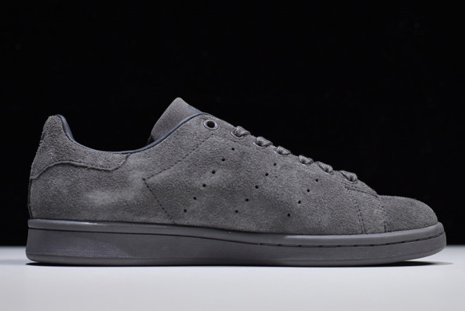 adidas Stan Smith Dark Grey Metallic Gold 1