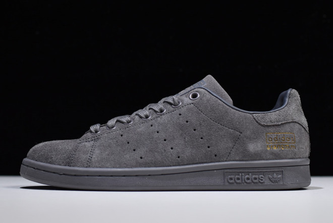 adidas Stan Smith Dark Grey Metallic Gold