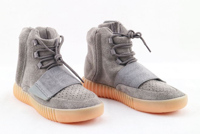adidas Yeezy Boost 750 Light Grey Light Grey Gum 1