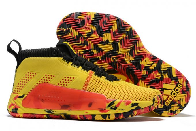 adidas Dame 5 Bruce Lee Yellow Black Red 1 680x455
