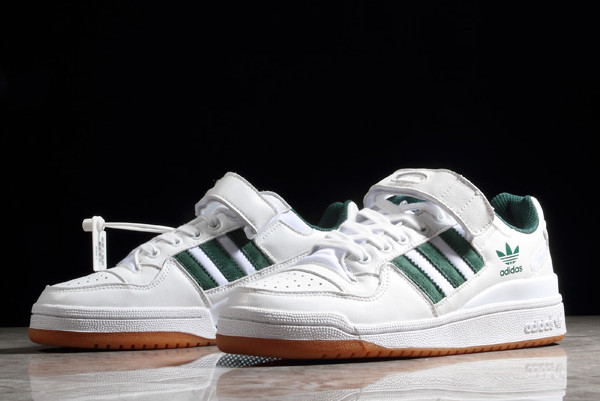 adidas low refined forum sneakers