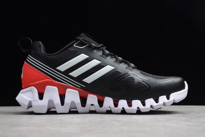 adidas Terrex Black University Red White 1