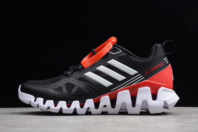 adidas Terrex Black University Red White
