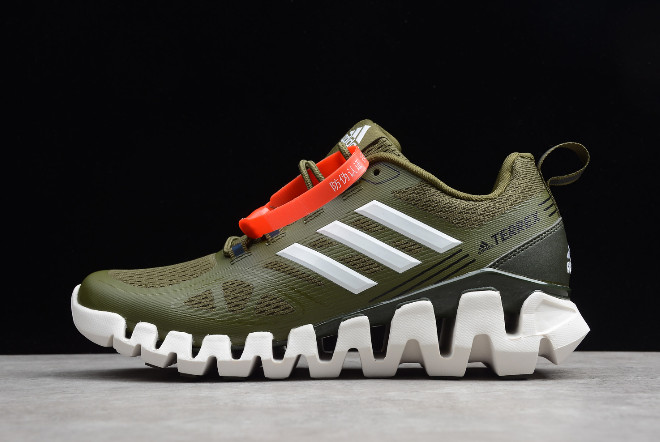 adidas Terrex Olive White For Sale