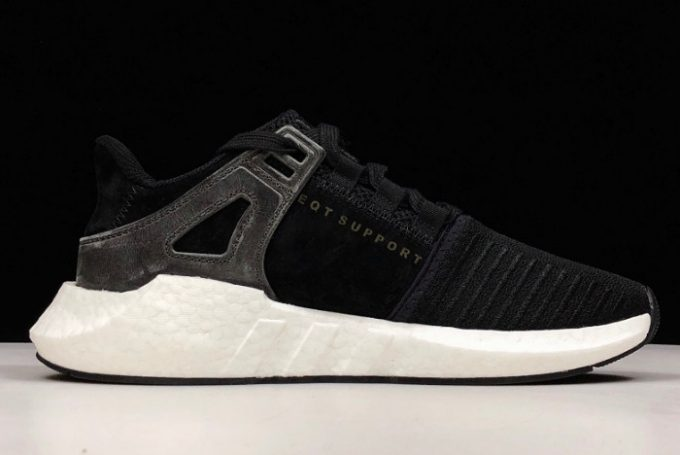 adidas EQT Support 93 17 Milled Leather Black White 1 680x455