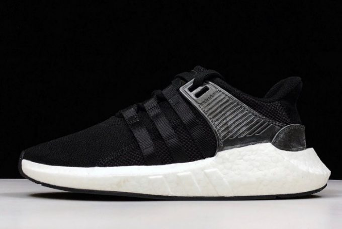 adidas EQT Support 93 17 Milled Leather Black White 680x455