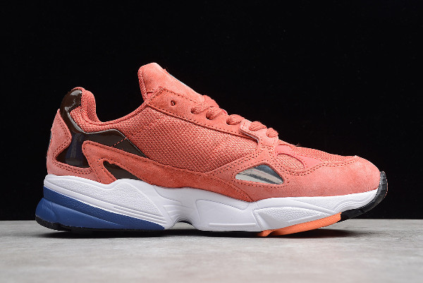 adidas Falcon W Raw Pink Dark Blue 1