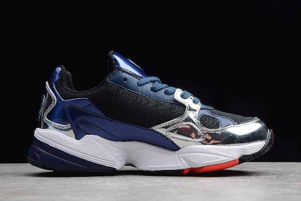 adidas Originals Falcon Collegiate Navy Collegiate Navy Silver Metallic 1