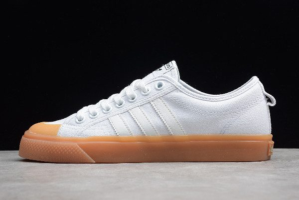 adidas Originals Nizza White/Gum CQ2533