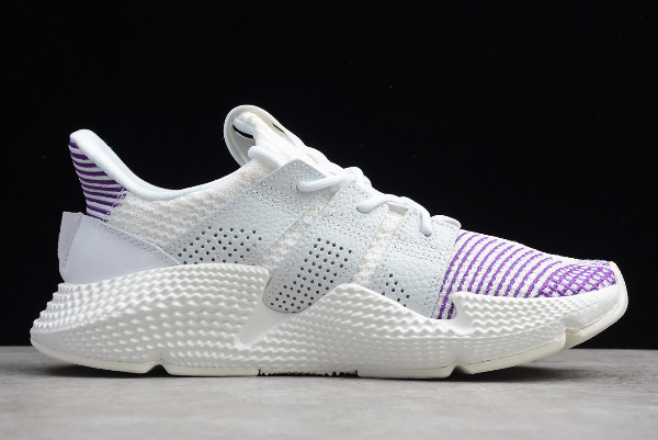 adidas Originals Prophere White Purple Running Shoes 1