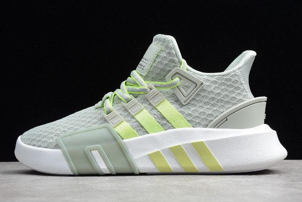 sports shoes 18426 5f569 2019 adidas EQT Bask ADV Ash Silver/Hi-Res Yellow-White BD7783 For Sale