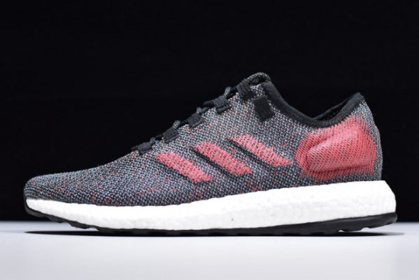 2019 adidas Pure Boost Black Red White