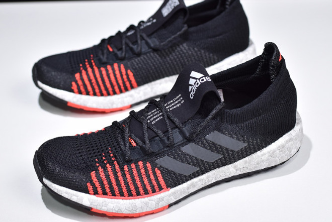 2019 adidas Pure Boost HD M Black White Red F33909 For Sale