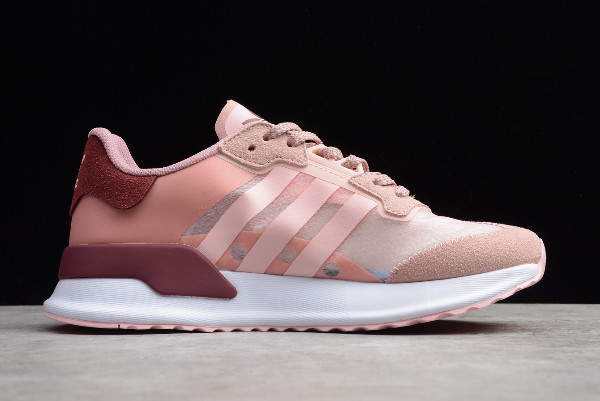 2019 adidas X PLR Pink Wine Red White EE7248 For Sale 1