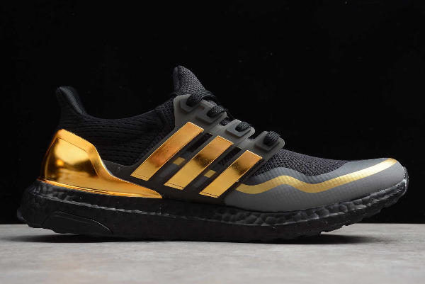 2019 adidas Ultra Boost Black Gold EG8102 For Sale 1